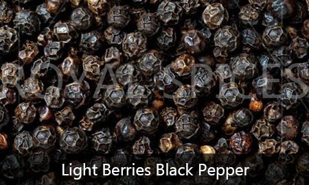 light berries black pepper